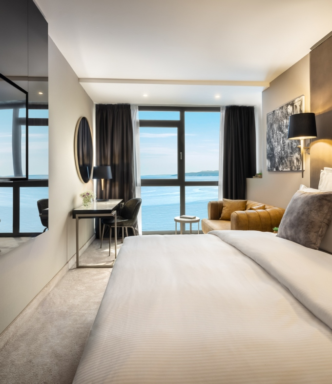 New Premium Double or Twin Room with Sea View